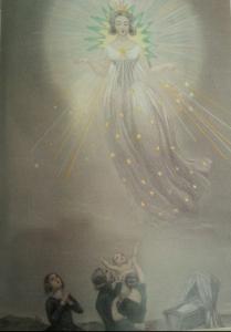 Grandville l'astronomie des Dames « la bonne étoile »